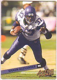 2002 Leaf Rookies and Stars Action Packed Bronze #14 Shaun Alexander /1850 by Leaf Rookies and Stars. $1.12. 2002 Donruss/Playoff trading card in near mint/mint condition, authenticated by Seller