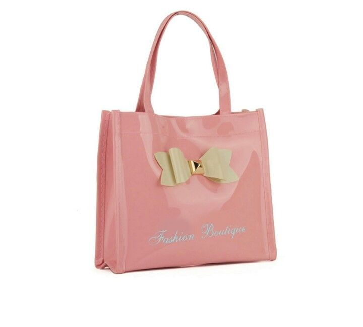 Stylish shopper bag Pink