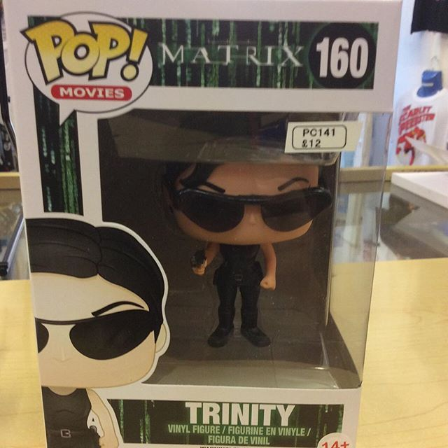 """""""Trinity from the Matrix movies  funko pop #keanureeves #carrieannmoss #trinity #thematrix  #funko pop Like this? I'm selling it on @depopmarket. Search for me: diversions on #depop ✌ """" Photo taken by @diversionsgifts.co.uk on Instagram, pinned via the InstaPin iOS App! http://www.instapinapp.com (07/17/2015)"""