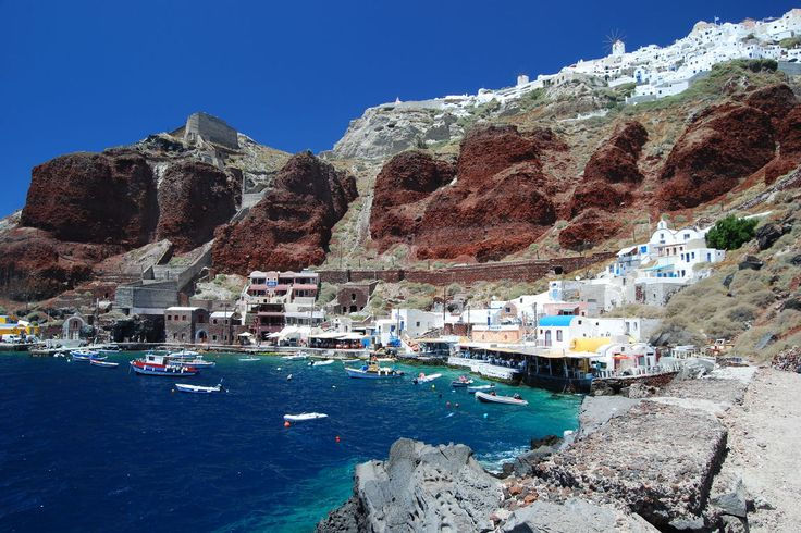Ammoudi Santorini, Greece