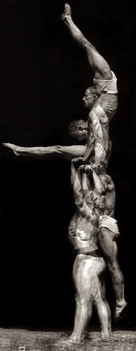 Etienne-Jules Marey: Athlete (1890s)