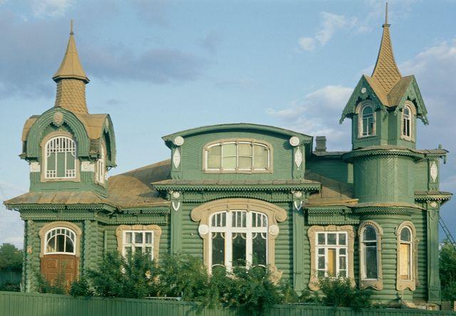Art nouveau russe  Gorokhovets (Vladimir region). Shorin's House, beginning of XX century