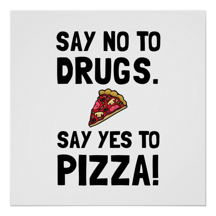 Yes To Pizza Poster Zazzle Com In 2021 Pizza Poster Pizza Design Food Poster Design