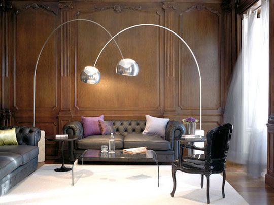 Arco Floor Lamp http://www.cadesign.ie/furniture/lamps/arco-style-floor-lamp-white/