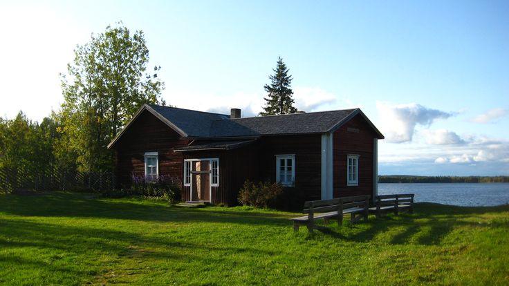 The museum of the Finnish writer professor Kalle Päätalo, just 1 km. from Saija Lodge, Jokijärvi, Taivalkoski, Kuusamo Lapland Finland