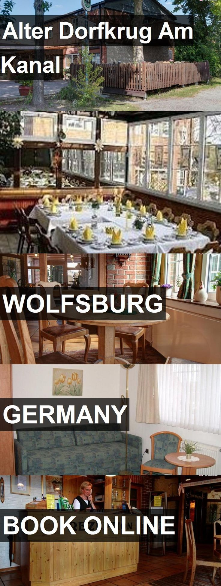 Hotel Alter Dorfkrug Am Kanal in Wolfsburg, Germany. For more information, photos, reviews and best prices please follow the link. #Germany #Wolfsburg #travel #vacation #hotel