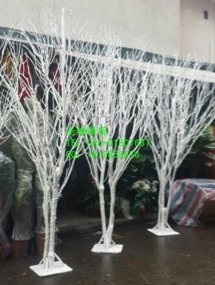 Simulation modeling can be customized withered tree branches decoration dry twigs shoot props native wood trunk tree trunk