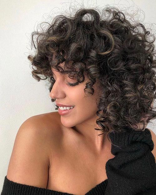 45 New Best Short Curly Hairstyles 2019 – 2020 # # #Curly Hairstyles #shorthairstylesforthickhair
