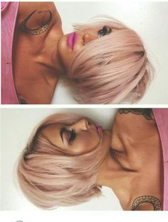 Pink bob @bexmahan ❤️❤️