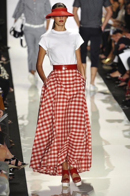 gingham check women's dress | Love...chic gingham, thought that was an oxymoron! ;))