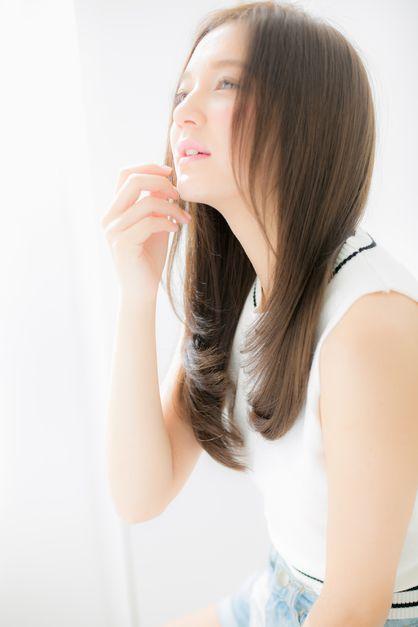 ~ RUCE ~ Nanaitoguchi's style! Clean and cute gloss straight ♪ | Machida, Tamagawa Gakuen ago · Naruse of beauty salon hair style of RUCE | Rasysa (Rashi)