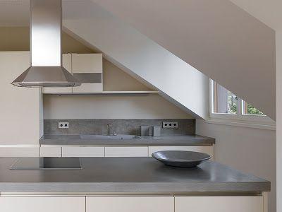 ber ideen zu beton arbeitsplatten auf pinterest arbeitsfl chen k chen und polierter. Black Bedroom Furniture Sets. Home Design Ideas