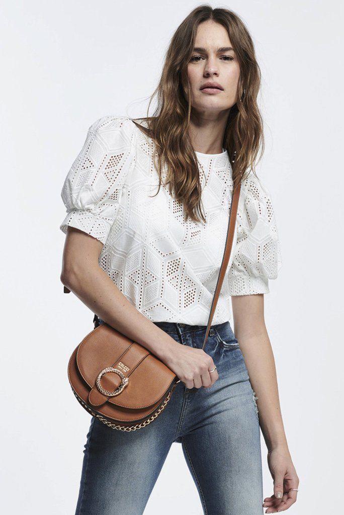 d1fd55247 Blusa Laise | blusas | Saddle bags, Bags e Saddles