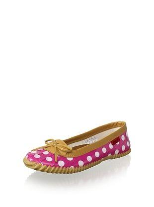 Chooka Women's Duck Skimmer Flat (Pink)