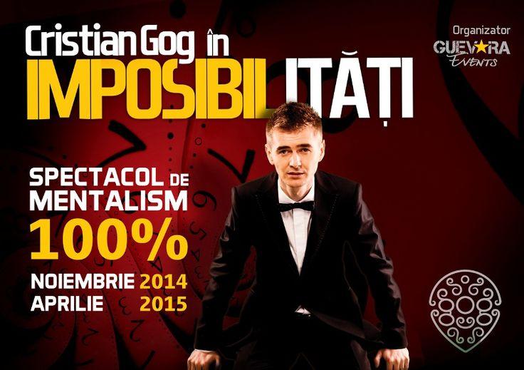 Castiga o invitatie VIP la spectacolul lui Cristian Gog in Brasov!