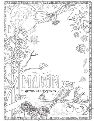 471 best W iccan color pages images on Pinterest | Coloring books ...