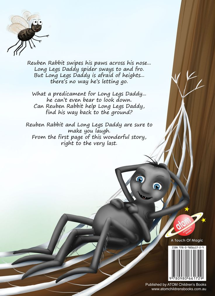 Long Legs Daddy back cover.