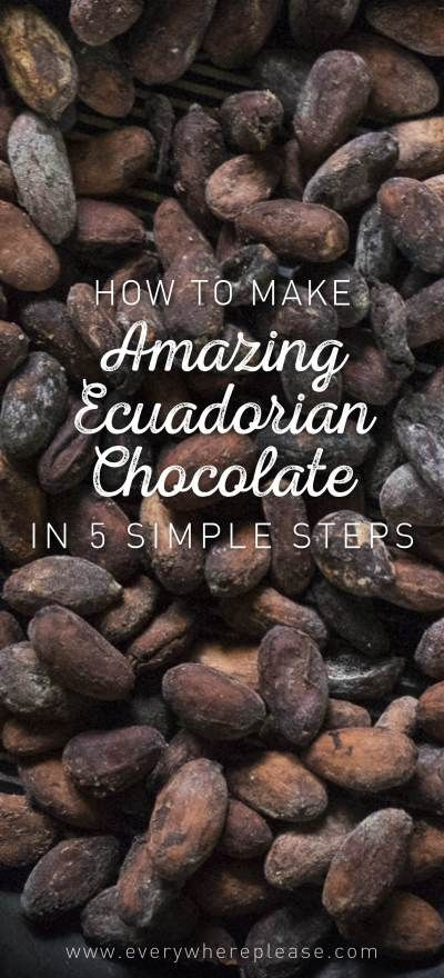 Ecuador Travel | Chocolate Making | Ecuador Chocolate | Amazon Travel | Amazon Chocolate