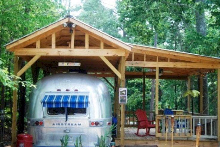 15 Stunning Airstream Trailer Hacks Remodel Makeover Ideas / FresHOUZ.com | Vintage camper, Airstream trailers, Airstream