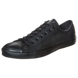 Heute mal in schwarzem Leder #Converse #Chucks #Sneaker