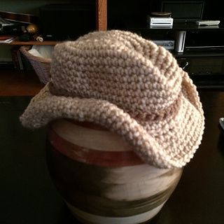 Free Crochet Baby Cowboy Hat Pattern on Ravelry