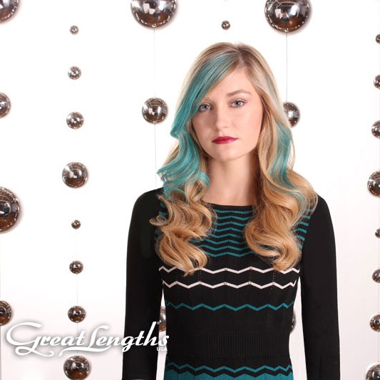 13 best great lengths usa challenge 2013 images on pinterest great lengths hair extensions in turquoise pmusecretfo Choice Image
