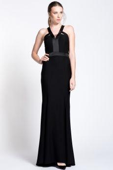 Maksi Elbise Siyah 1