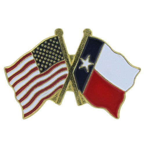 US Flag Store Lapel Pin USA and Texas Flag US Flag Store…