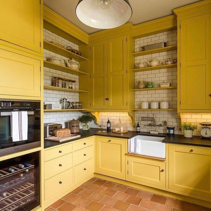 35 What You Should Do About Modern Yellow Kitchen Cabinets Starting In The Next Yellow Kitchen Designs Modern Yellow Kitchen Cabinets Yellow Kitchen Cabinets