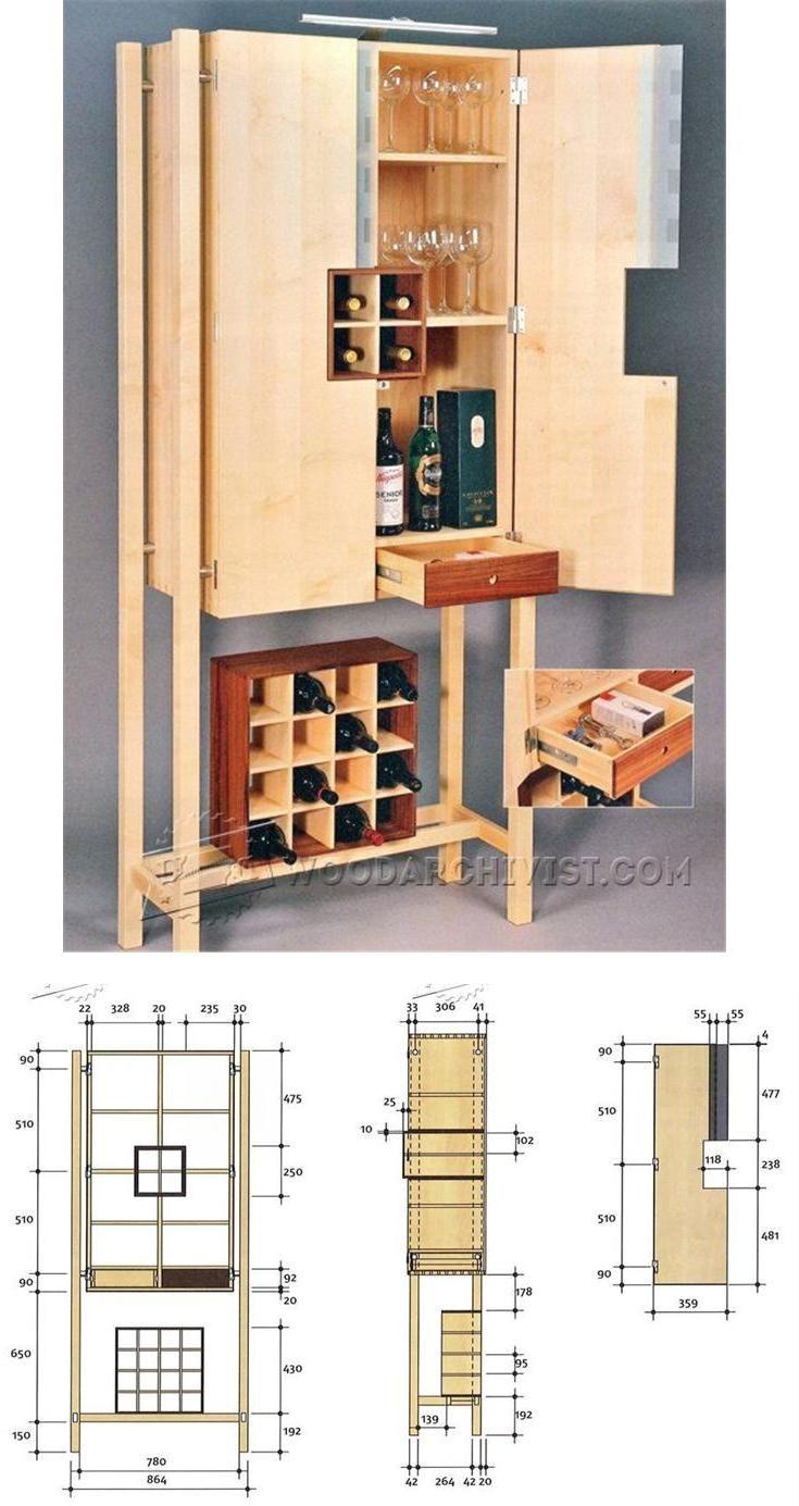 woodworking plans modern furniture. wine server plans furniture and projects woodwork woodworking modern