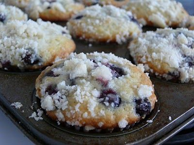 Saskatoon Berry Muffins. Makes about 12 muffins & next time only reserve about 1/3 cup topping.