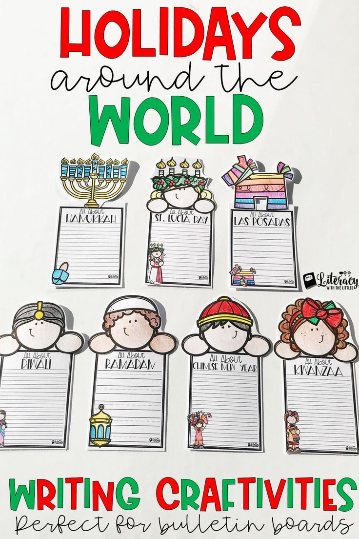 Use These Darling Writing Crafts To Show Off Your Students Writing And Add Some Festive Decor To Your Holidays Around The World Writing Crafts Winter Writing Expected reading level grade victoria