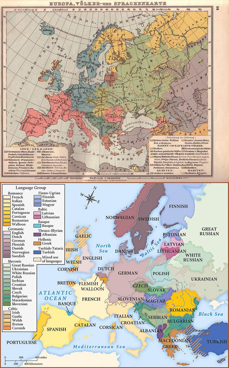 43 best maps images on pinterest maps cartography and cards european languages 2 maps of europe depicting the languages spoken in the continent the first gumiabroncs Gallery