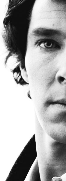 Sherlock. ♥ I was forced to take two screenshots of this picture on my iPod because his neck is just too sexy.