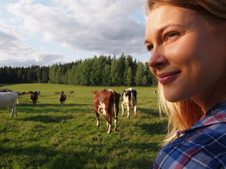 Luomuvideon tähti Tanja on agroekologian opiskelija maatalous-metsätieteellisestä tiedekunnasta. Katso luomuvideo täältä https://vimeo.com/75748580