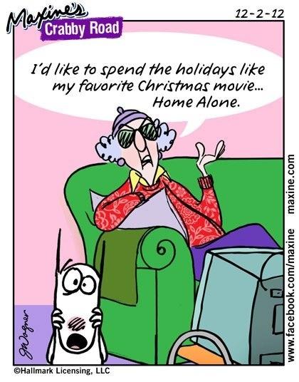 I'd like to spend the holidays like my favorite Christmas movie... Home Alone!