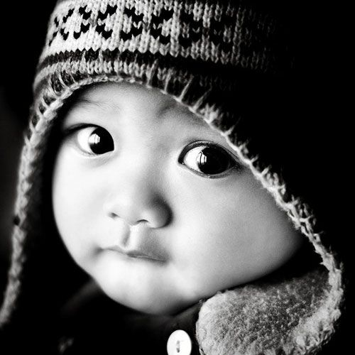 Mr Big Eyes… by wazariCutest Baby, Precious Children, Black White Photography, Beautiful, Baby Face, Bw Photography, Asian Baby, Kids, Big Eye