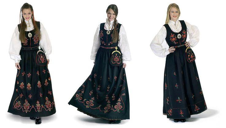 Norwegian Folk Costume - MadeinNorwayNow