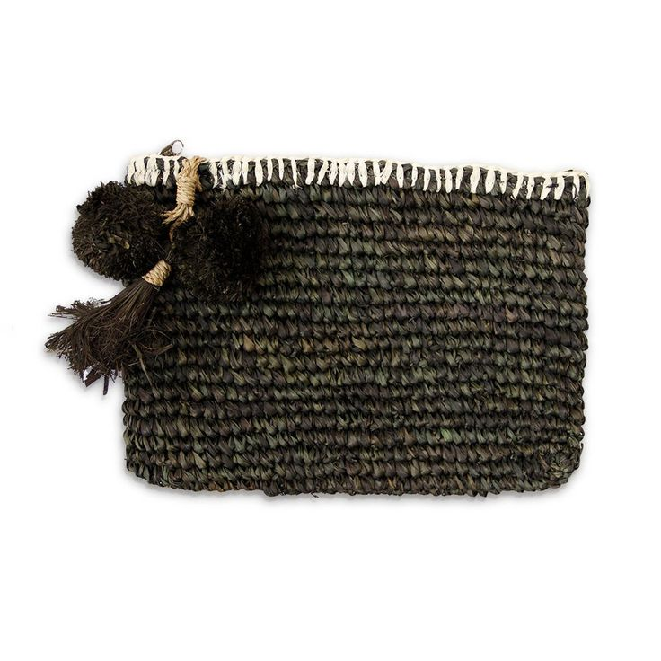 SHOP | Isla Clutch Small Charcoal | The Society inc. by Sibella Court