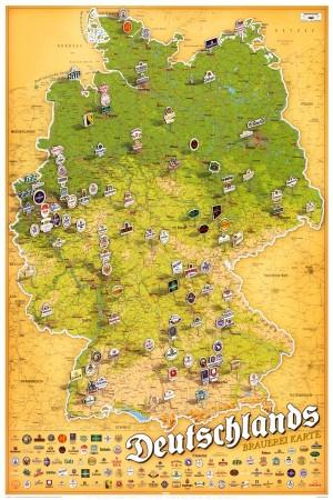 Brauereikarte Deutschland... or how about a brewery map?
