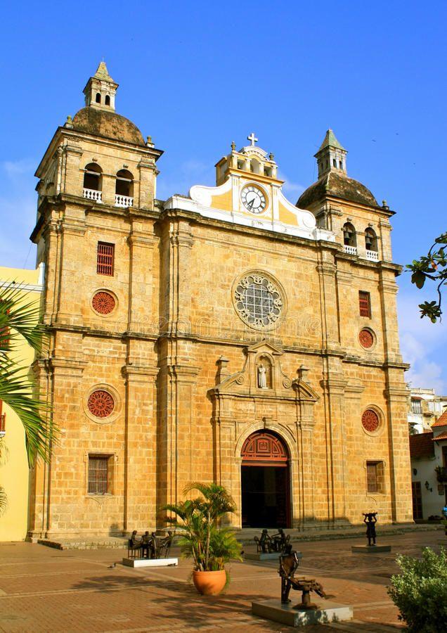 San Pedro Claver Church, Cartagena, Colombia. Cloister