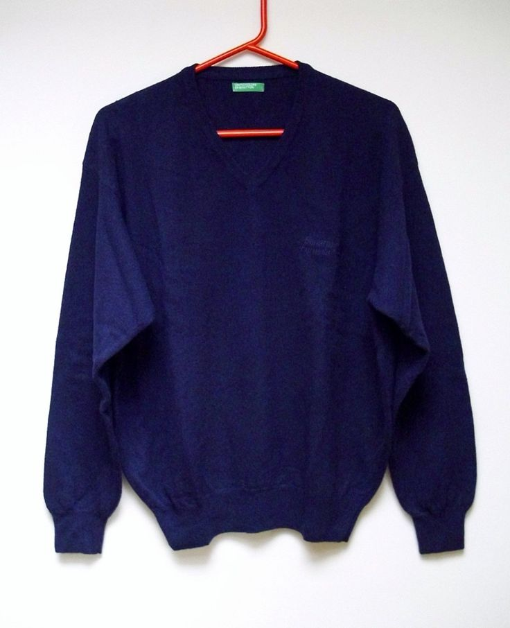 Genuine #benetton formula 1 f1 team 100% wool #jumper blue size #medium free p&p,  View more on the LINK: 	http://www.zeppy.io/product/gb/2/192036282465/