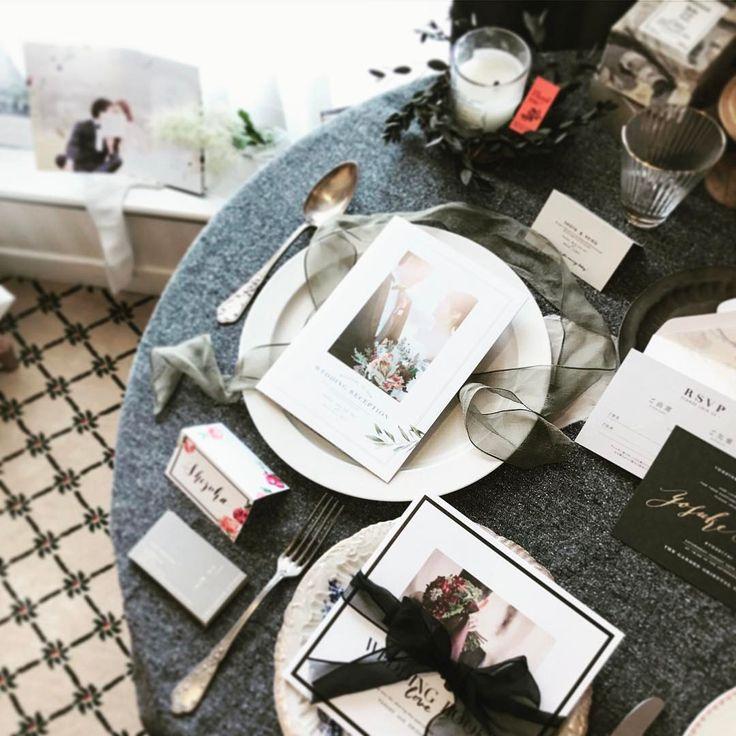 my first exhibition . 他の場所にも何箇所かスペースを設けて飾っていたのに、写真を撮り損ねてしまい、、、、 . . . #席札 #namecard #guestcard #エスコートカード #paperitem #ペーパーアイテム #プロフィールブック #profilebook #wedding #weddingbook #ウェディング #招待状 #席次表 #menu #メニュー #プチギフトタグ #プチギフト #thankgtag #サンクスタグ #プレ花嫁 #ペーパーアイテムオーダー #paperdesignbam
