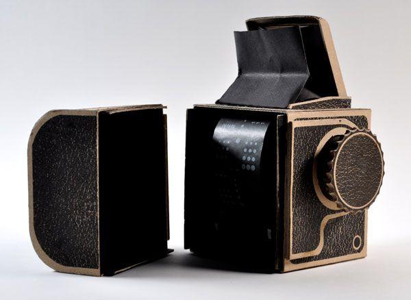Cardboard Pinhole Hasselblad.