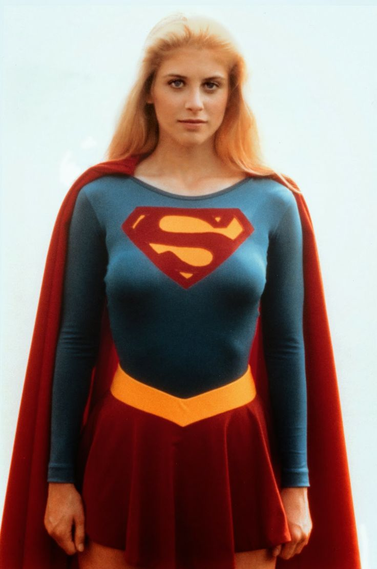 vintage everyday: Helen Slater as Supergirl, 1984