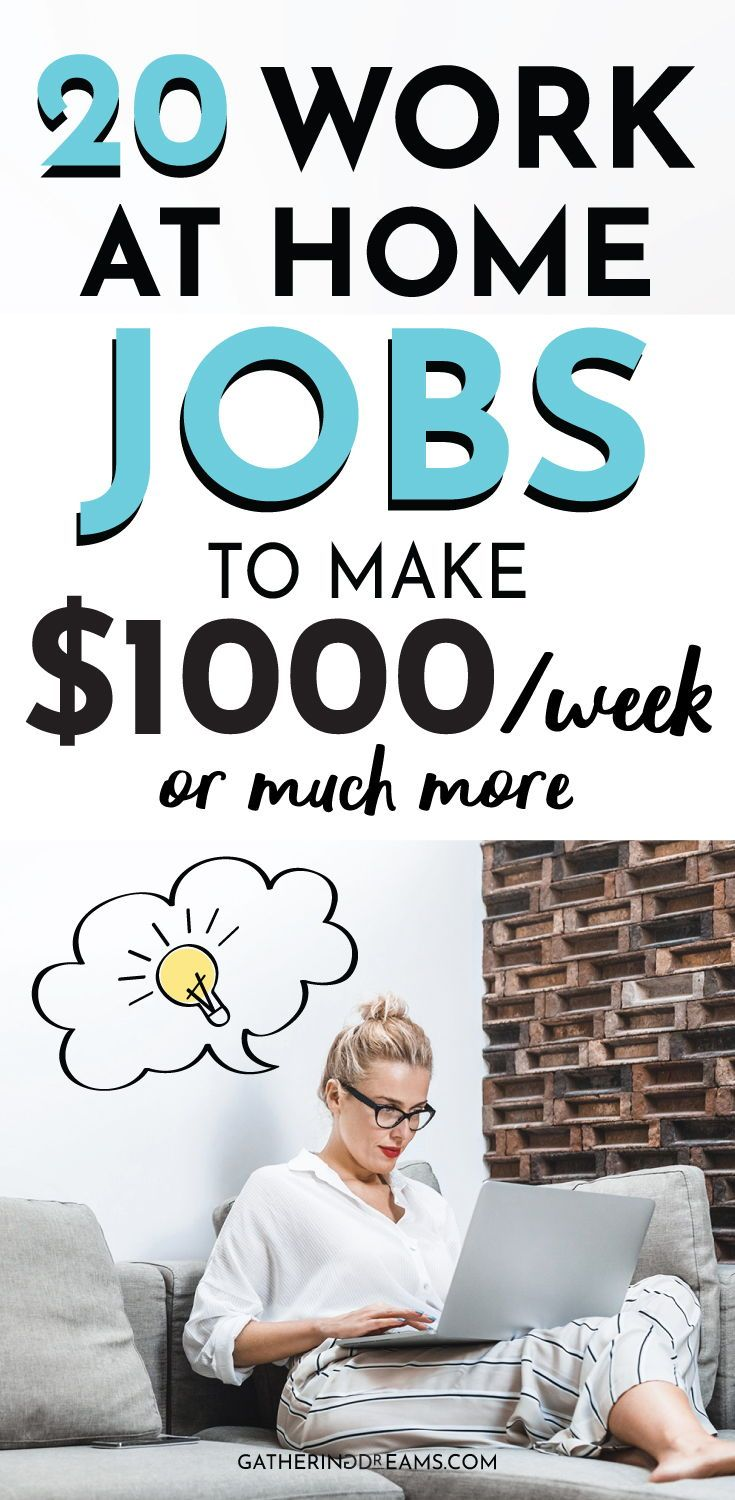 20 Best Ways To Make Money from Home (in 2019) – Gathering Dreams | Do What You Love