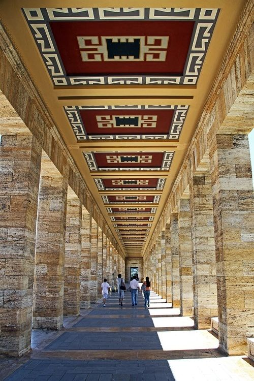Anitkabir, Ankara | Turkey  - by Alperen Arican #buildings
