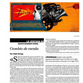 10/02/15EL MUNDO (INNOVADORES) MADRID Prensa: Diaria Tirada: 229.741 Ejemplares Difusión: 156.172 Ejemplares Página: 2 Sección: OTROS Valor: 18.790,00 € Áre. http://slidehot.com/resources/cambio-de-escala-el-mundo-innovadores-art-opi-i-ortega-100215-1.22890/