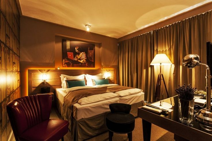 Wonderful Baltazar Hotel in Budapest for Your Travelling : Lovely Lighting And Iniviting Charm Of The Rooms At Baltazar