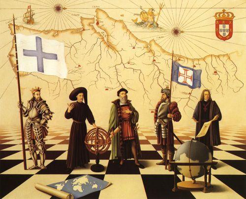 Real Associação da Beira Litoral: OS DESCOBRIMENTOS PORTUGUESES VISTOS POR TOMASZ KOSTECKI